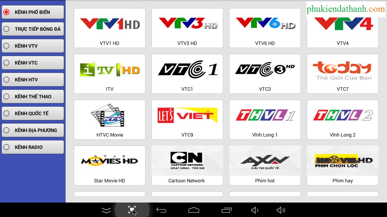 TV Box chính hãng tại Đà Nẵng - Biến TV thường thành Smart TV