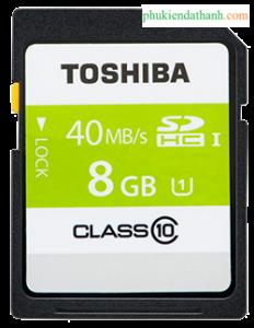 Thẻ nhớ 8GB máy ảnh SDHC