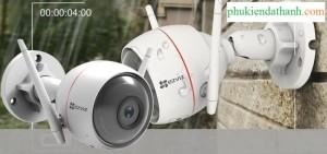 Camera Ezviz 1080p - Tích hợp còi đèn