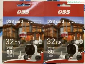 thẻ nhớ 32gb DSS chính hãng chuyên camera