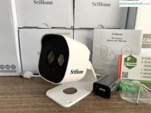 Camera Wifi Ngoài trời chống nước 3.0Mpx 1296p Srihome SH029 siêu nét