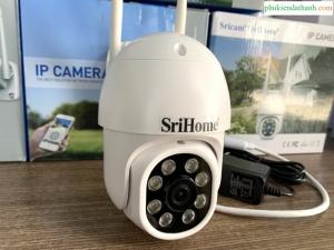 Camera Ngoài Trời PTZ 360 độ Srihome SP028 2MP Full HD 1080P