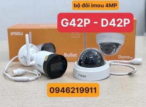 Camera IMOU G42P và D42P chất lượng 4MP